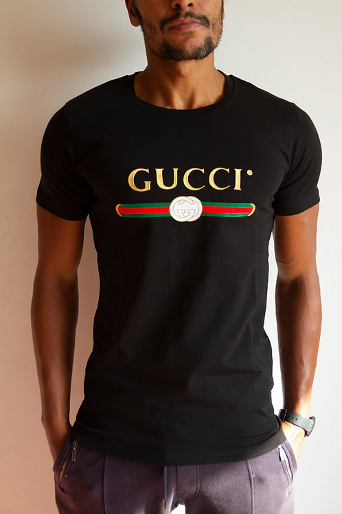 High Quality Gucci T-Shirt for men 100 % Cotton