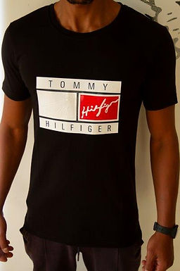 Basic TOMMY T-Shirt for men 100% Cotton