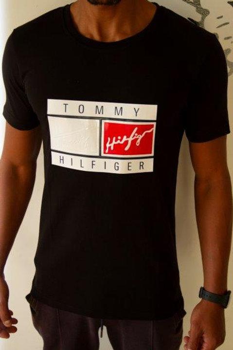 Basic TOMMY T-Shirt for men 100% Cotton