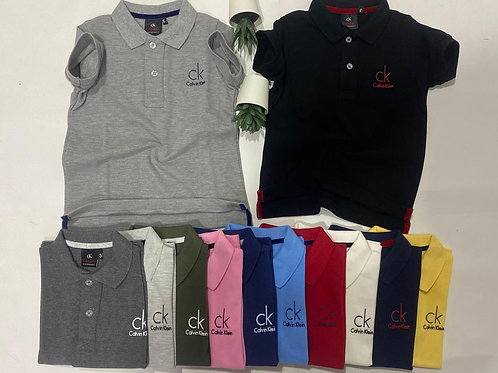 Calvin Klein Polo cotton T-shirts for Boys 2 up to 12 years