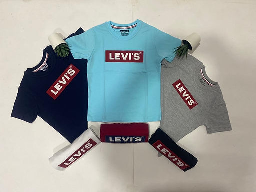 Levi`s Cotton T-Shirt for Boys  2 up to 12 years old