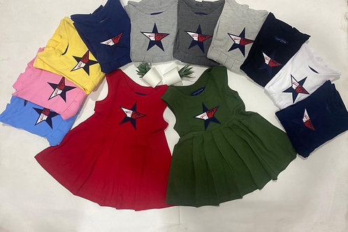 High Quality dress for Girls from 1 year to 10 years 100% Cotton