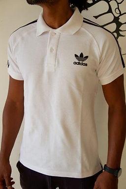Polo Adidas T-Shirt for men 100% Cotton