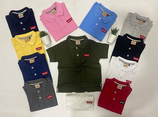 kid`s Levi`s Polo T-Shirt for 2 up to 12 years