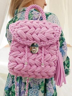 Women wool handbag handmade