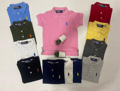 High Quality Polo T-shirts for boys 2 up to 12 years