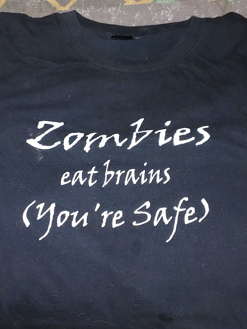 Zombies eat brains (You're safe)