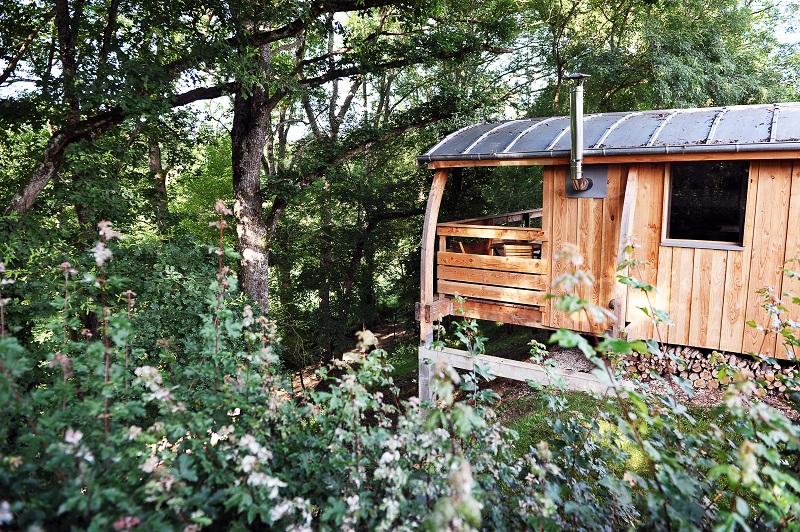 location vacances éco-cabane Indre