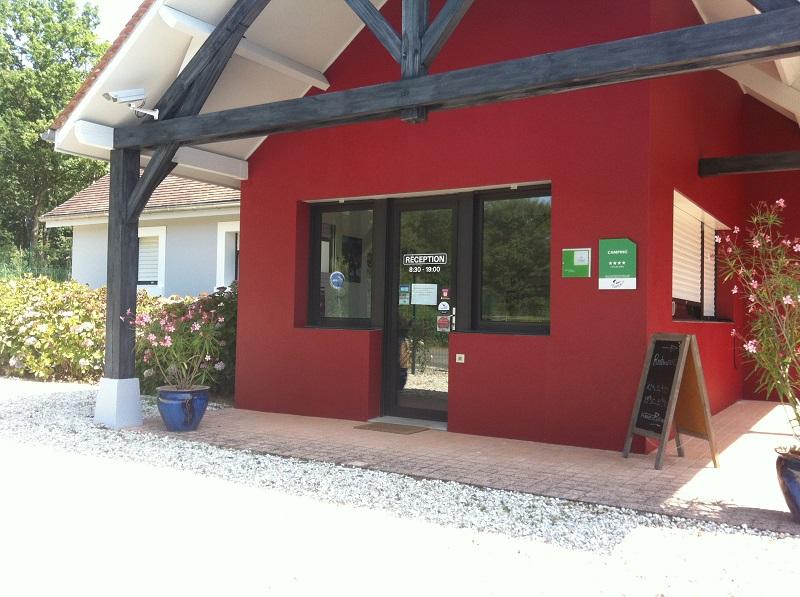 Camping Val Vert Ecolabel Region Centre