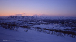 La chaîne des monts Alaska