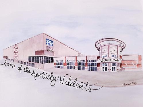 """Home of the Kentucky Wildcats"""