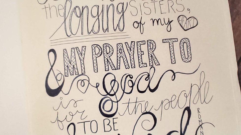 Romans 10:1