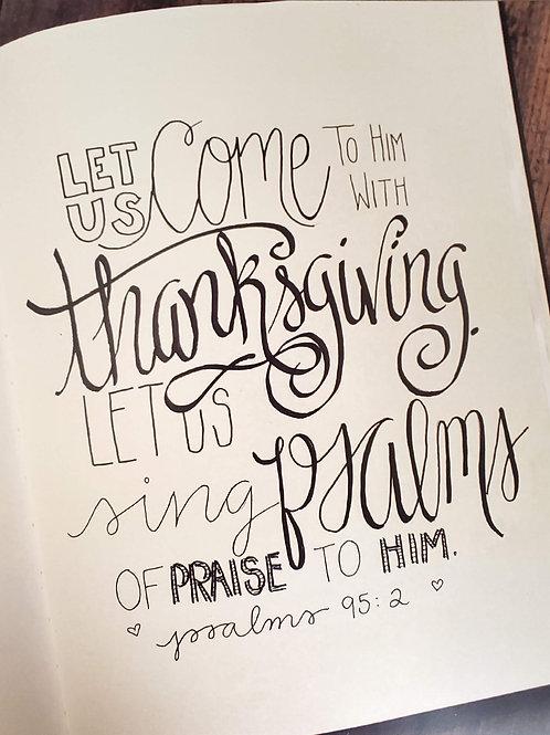 Psalms 95:2
