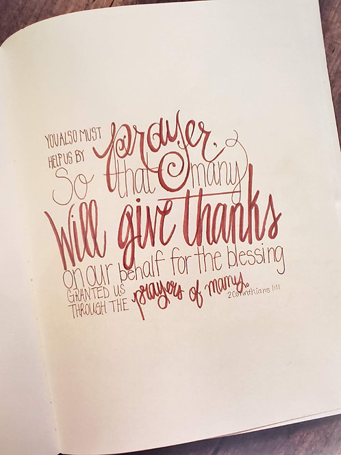2 Corinthians 1:11