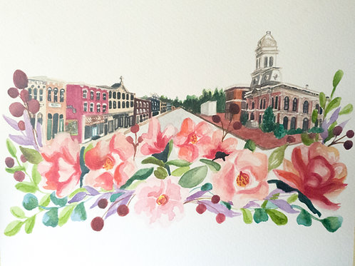 Georgetown Floral-Scape