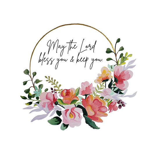 May the Lord bless you Sticker