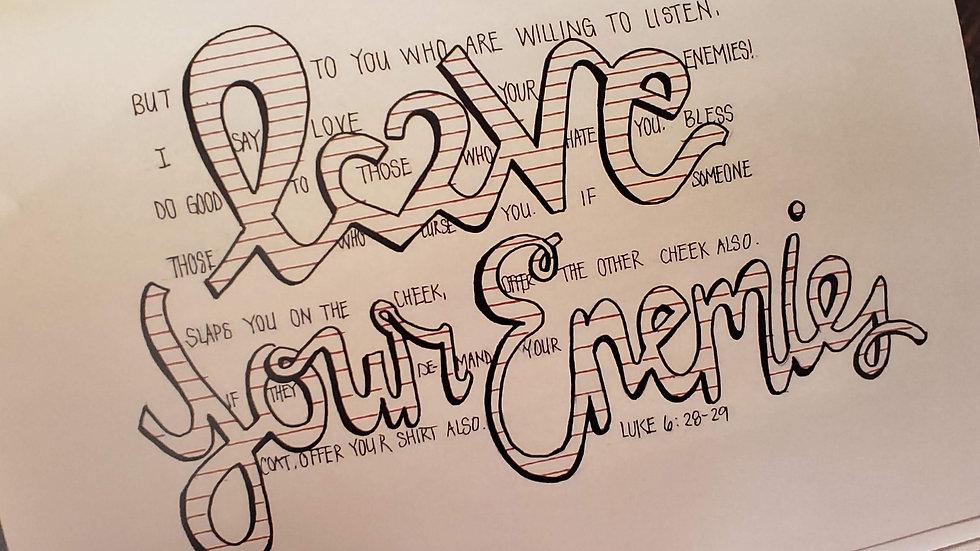 Luke 6:28-29