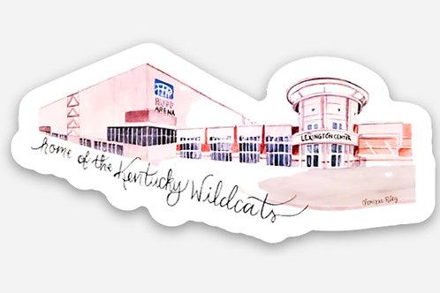 Home of the Kentucky Wildcats Sticker