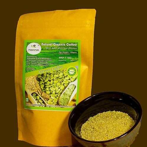 Organic Green Coffee (Beans / Flakes)