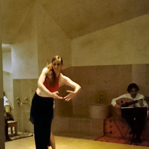 Solo performance with Hassan Taha