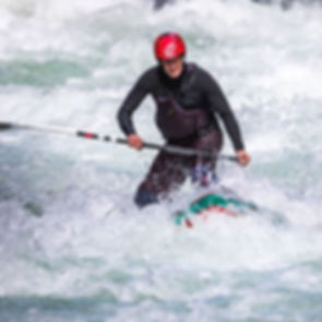 Whitewater SUP White Salmon, Washington