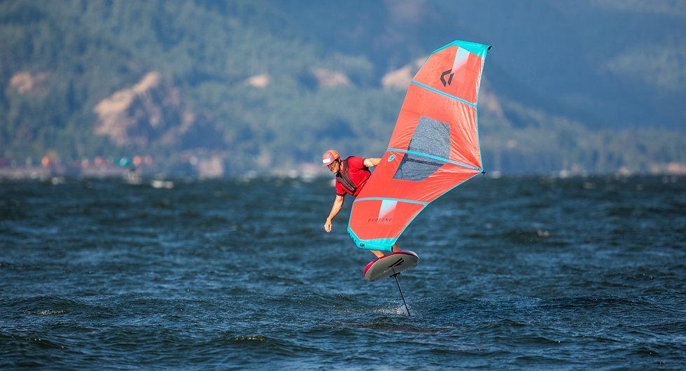 Dan Gavere Foil Wing Lessons, Hood River