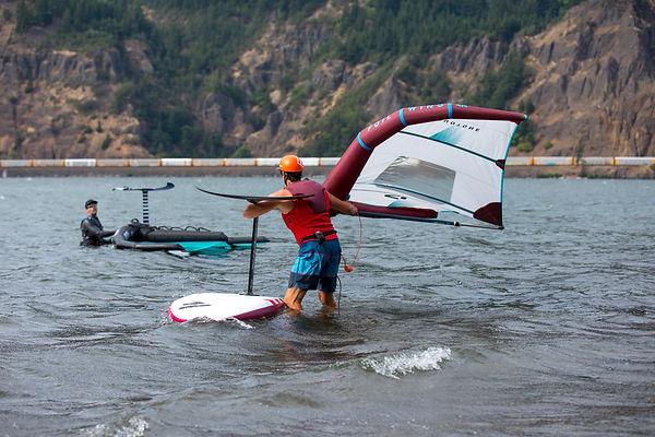 Wing Foil Lesson  Dan Gavere  Hood River