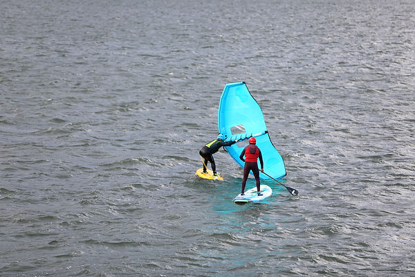 Wing Foil Lesson_ Dan Gavere Hood River