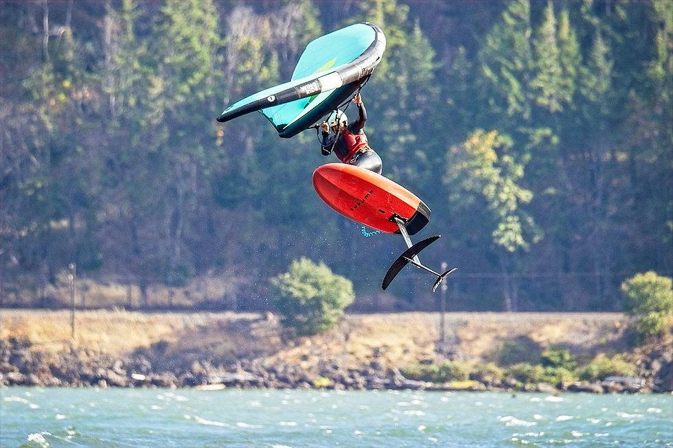 Wing Foil Lessons Dan Gavere  Hood River, Oregon