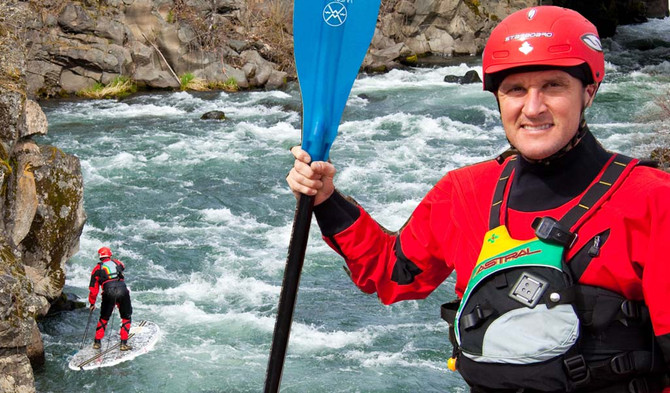 HOW TO BE SAFE IN THE RAPIDS ON SUP