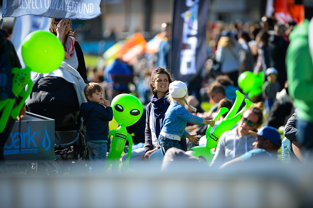 There were Aliens everywhere.