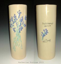 Commissioned Wedding Vase