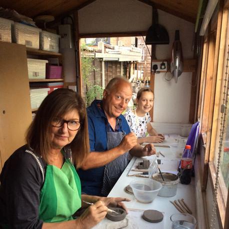 Group Ceramics Courses