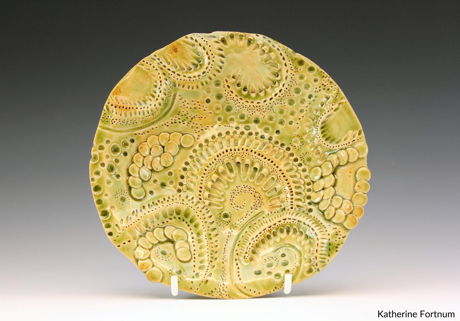Inticate series sculpture #4, White Ston