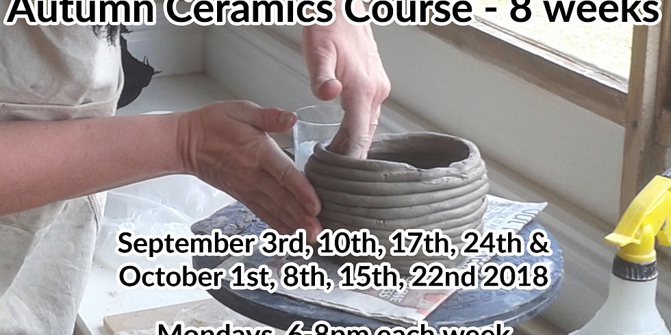 Autumn Evening course - 8 weeks - Mondays