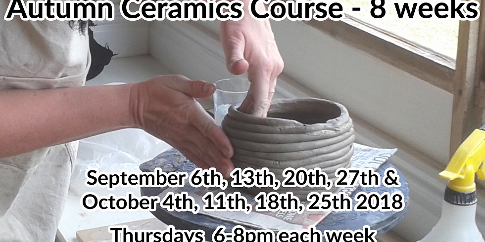 Autumn Evening course - 8 weeks - Thursdays