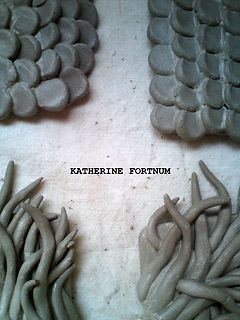 Sneaky peak of new work by Katherine Fortnum Ceramicist, Ceramics Workshop, Market Harborough, Leicestershire