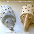 Hedgehog pencil holders