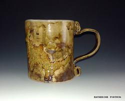 Mug 1, white stoneware, by Katherine Fortnum 2016, photograph by Katherine Fortnum
