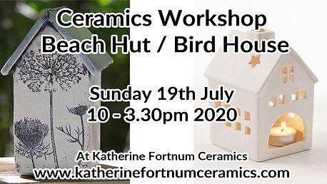 beach hut- bird house group workshop,19t