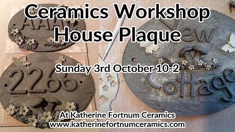 HOUSE PLAQUE at Katherine Fortnum Ceramics.jpg