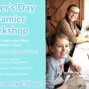 Mother's Day Workshop Offer