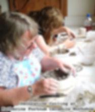 Handbuilding at Katherine Fortnum Ceramics Workshop, Market Harborough, Leicestershire