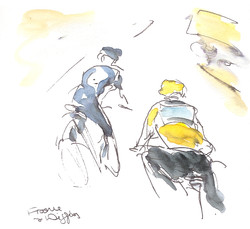 Tour de France Stage 17 - Froome and Wiggins