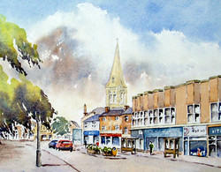 Market Harborough from the Square