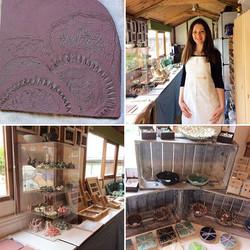 Katherine Fortnum Ceramics, Spring time open studio 2017