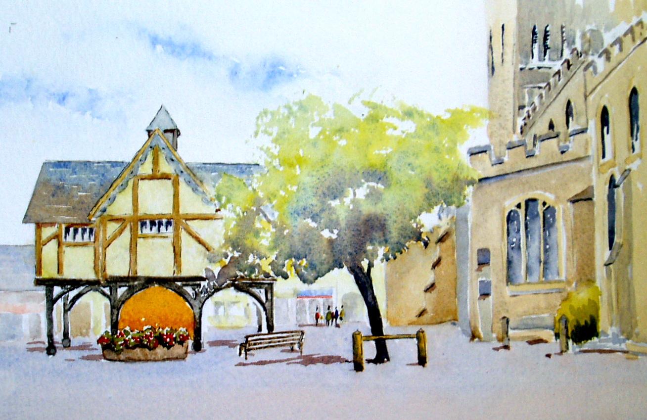 Market Harborough - a different view.