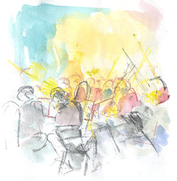 Kettering Symphony Orchestra rehearsal 2