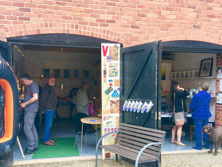 Open Studios weekend, 12th-13th May 2018