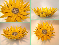 Commissioned Sunflower Sculpture
